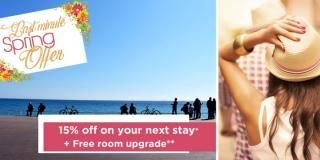 Spring offer – Discount price on your stay in Nice !